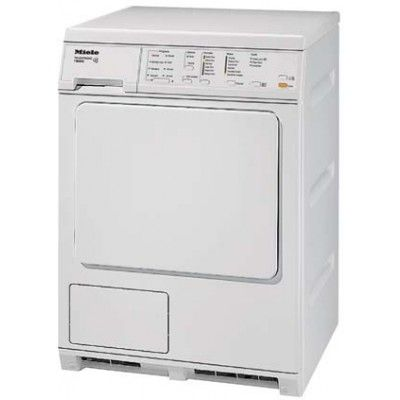 Miele T8023c Touchtronic 24 White Stackable Electric Dryer With