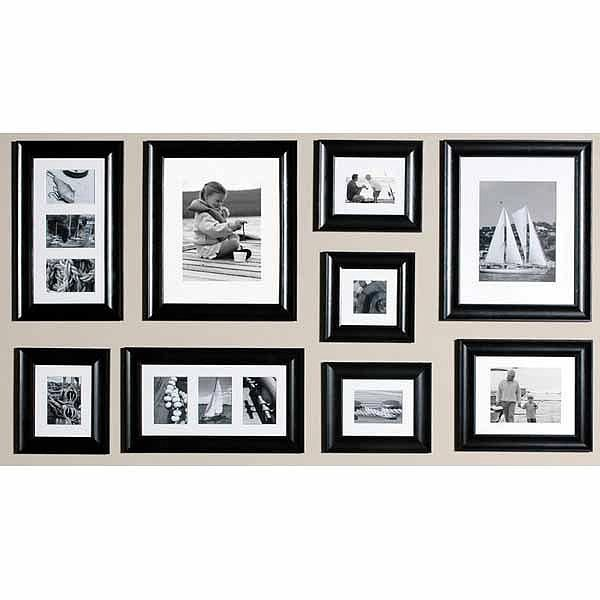 Picture frame set (this one is from Michaels) quality frames that ...