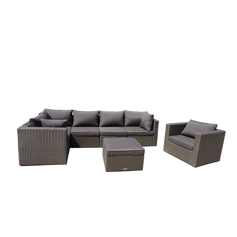 Garden Decor Newcastle: Mimosa 7 Piece Waiheke Lounge Setting