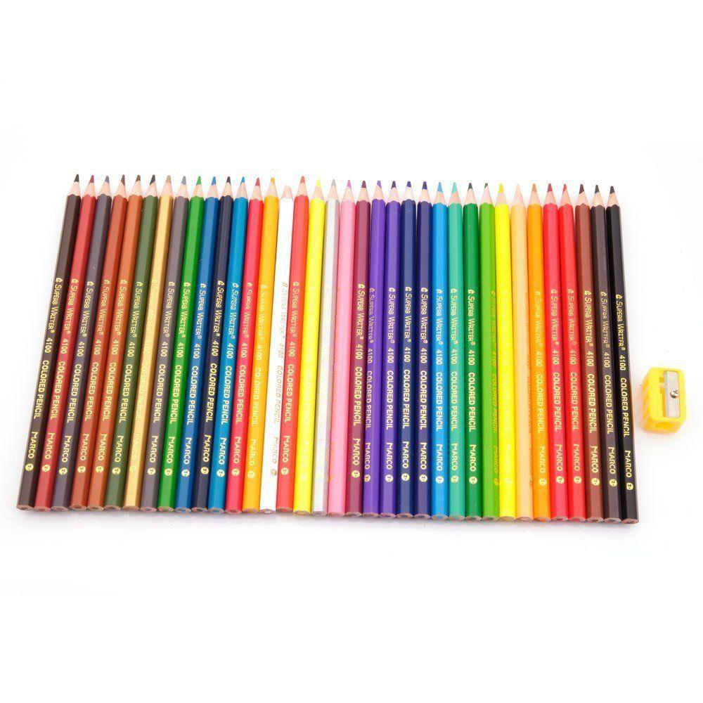 Amazon.de : Taotree 36 Farben Buntstifte Farbstifte Colour Pencils ...
