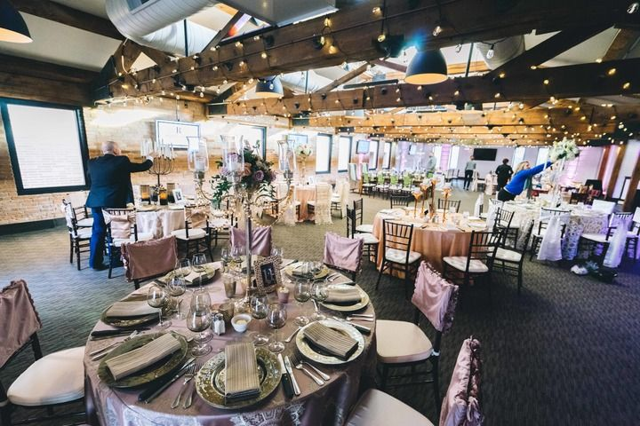 Minneapolis Event Center Grand Ballroom Mn Black Tie Wedding Fall