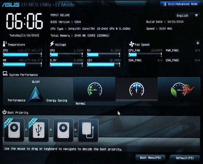 How To Get Out Of Bios Utility Ez Mode Asus