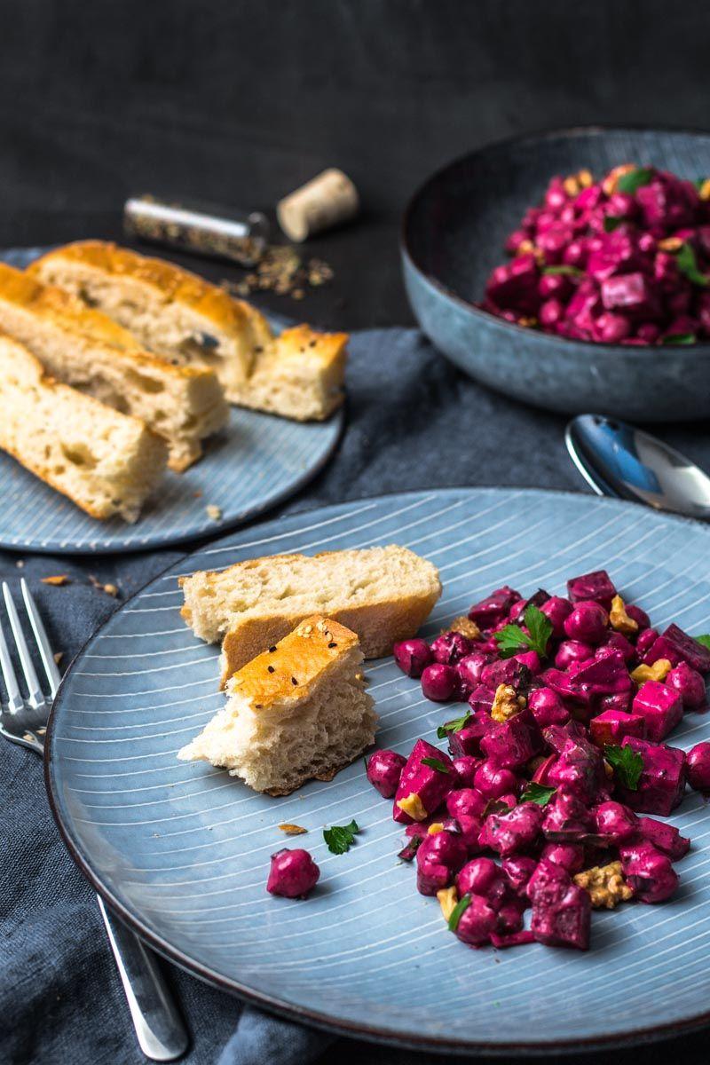 indischer kichererbsen rote beete salat rezept. Black Bedroom Furniture Sets. Home Design Ideas