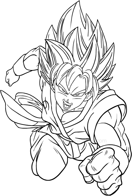 Dibujos De Dragon Ball Super Para Colorear Dibujos De Dragon Dragones Dibujo De Dragon