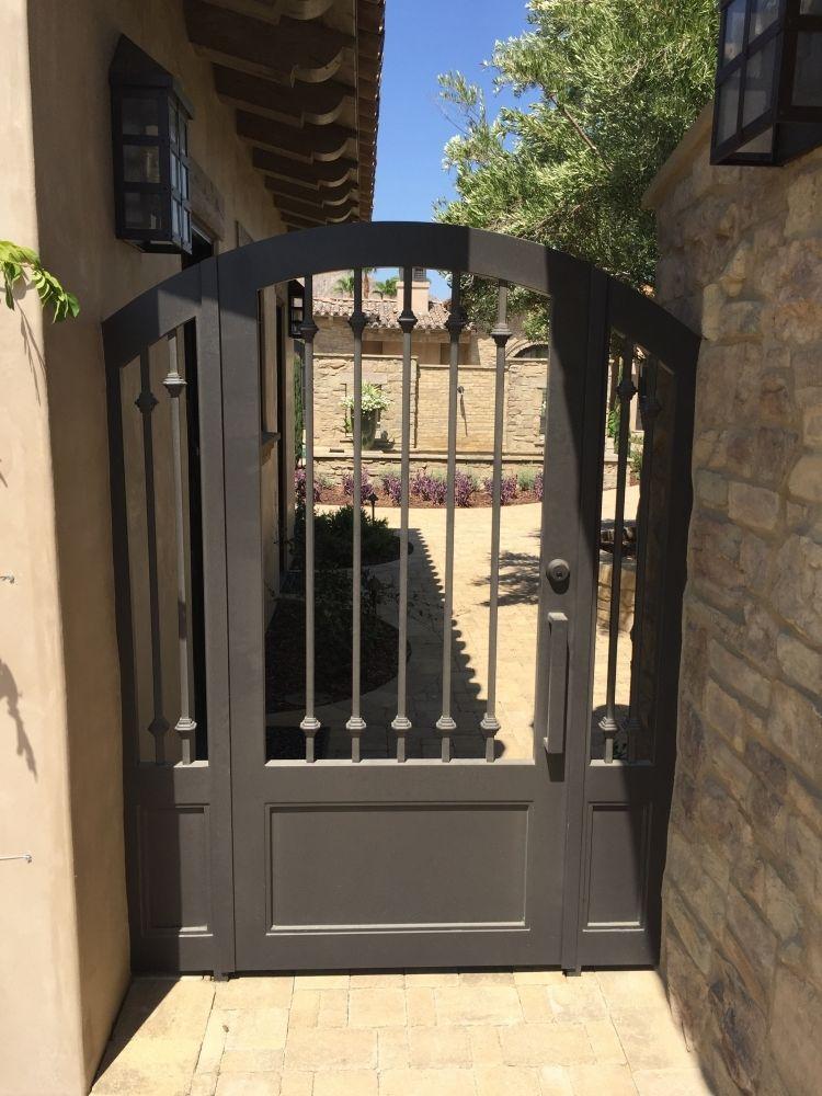 Wrought Iron Metal Gates For Courtyards Gardens Wrought Iron
