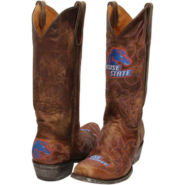 Boise State Broncos Cowboy Boots - Brown - $199.99