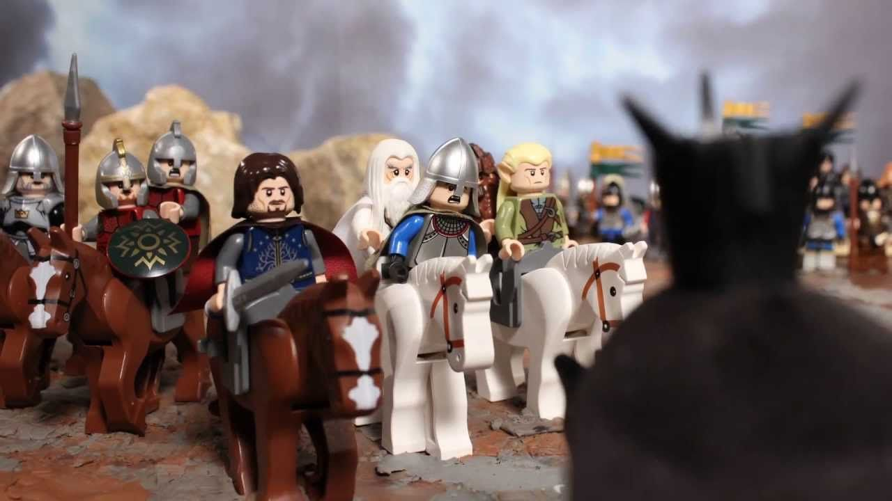 Black Gate Lego Lotr Moc The Lord Of Rings Battle At 79007 Playlist For Jerry 1280x720