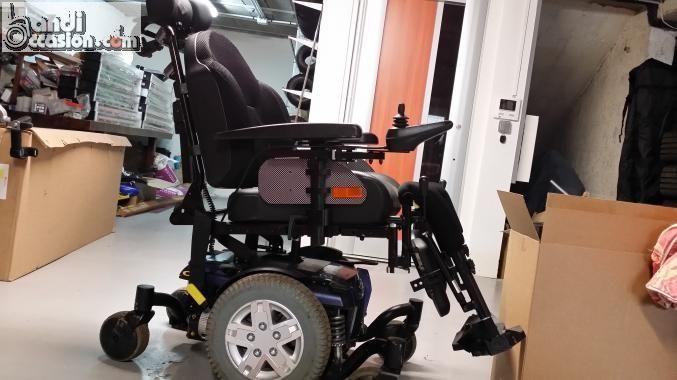 fauteuil roulant lectrique icare q4 6 roues annonces handi occasion outdoor power equipment. Black Bedroom Furniture Sets. Home Design Ideas