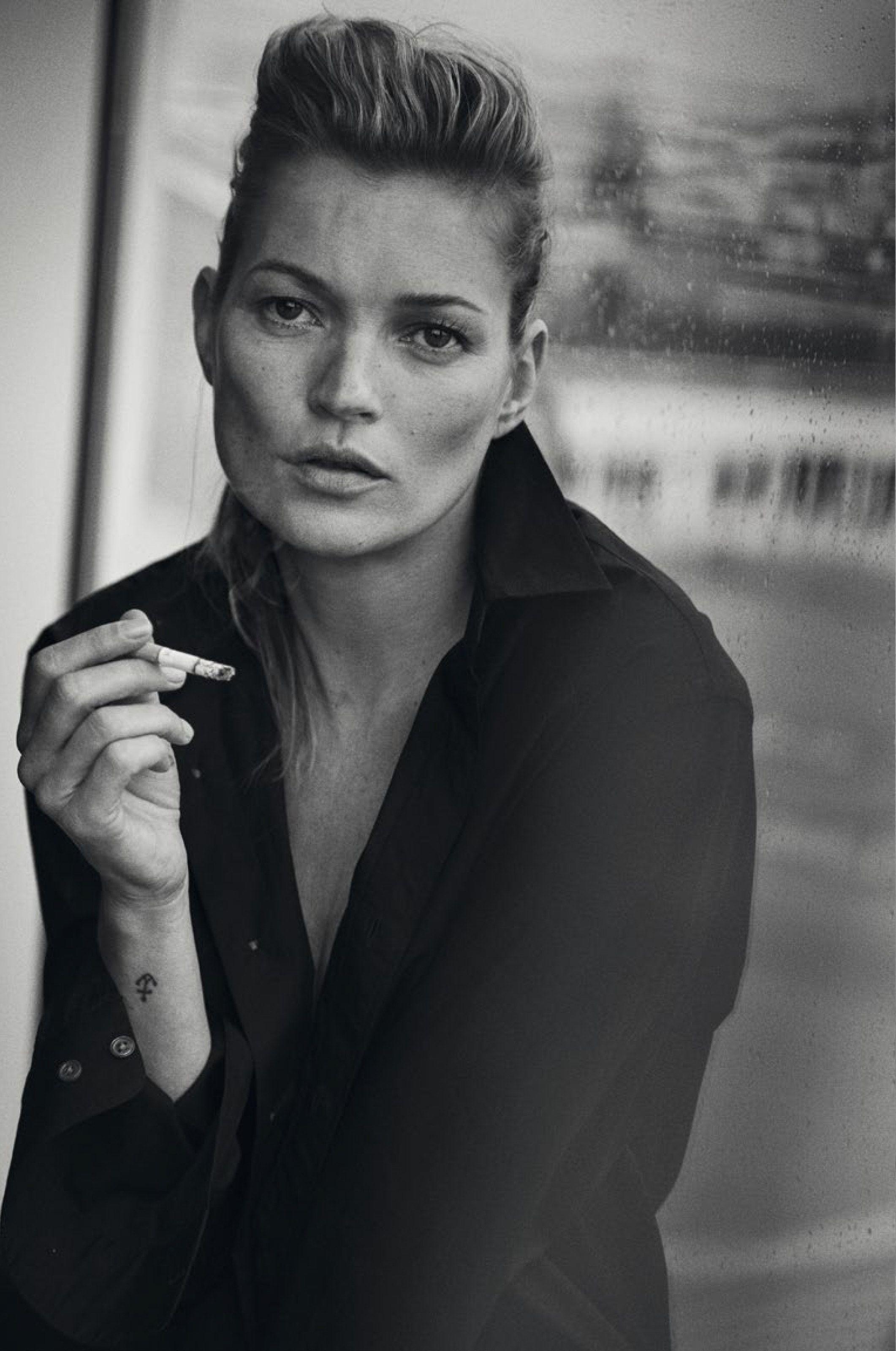 Peter Lindbergh Photoshoot for Vogue Magazine Italia, January 2015
