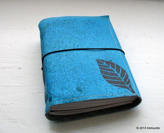 turn a new leaf blank tri fold journal