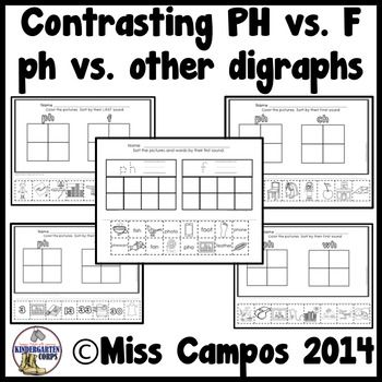 Ph Digraph Worksheets | Cuttings, Kindergarten and Ph