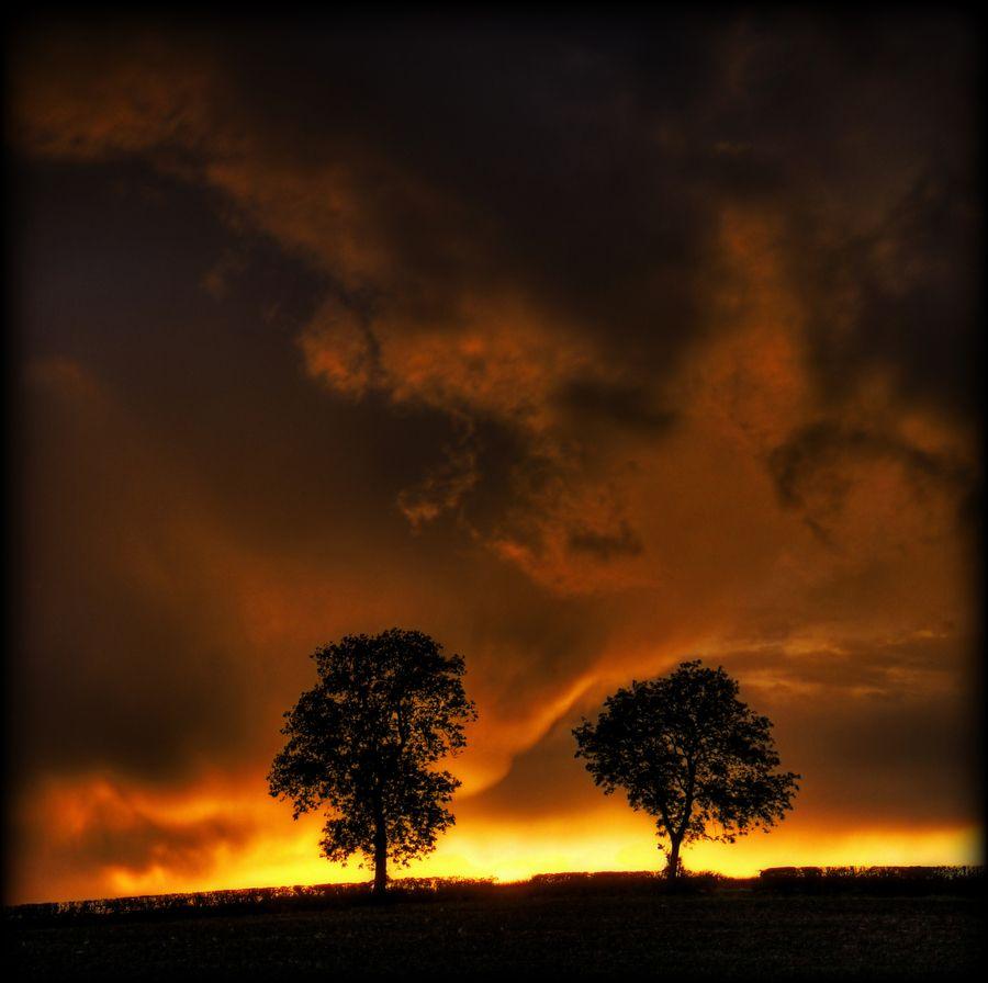 Cloudy Sunset - Beautiful !