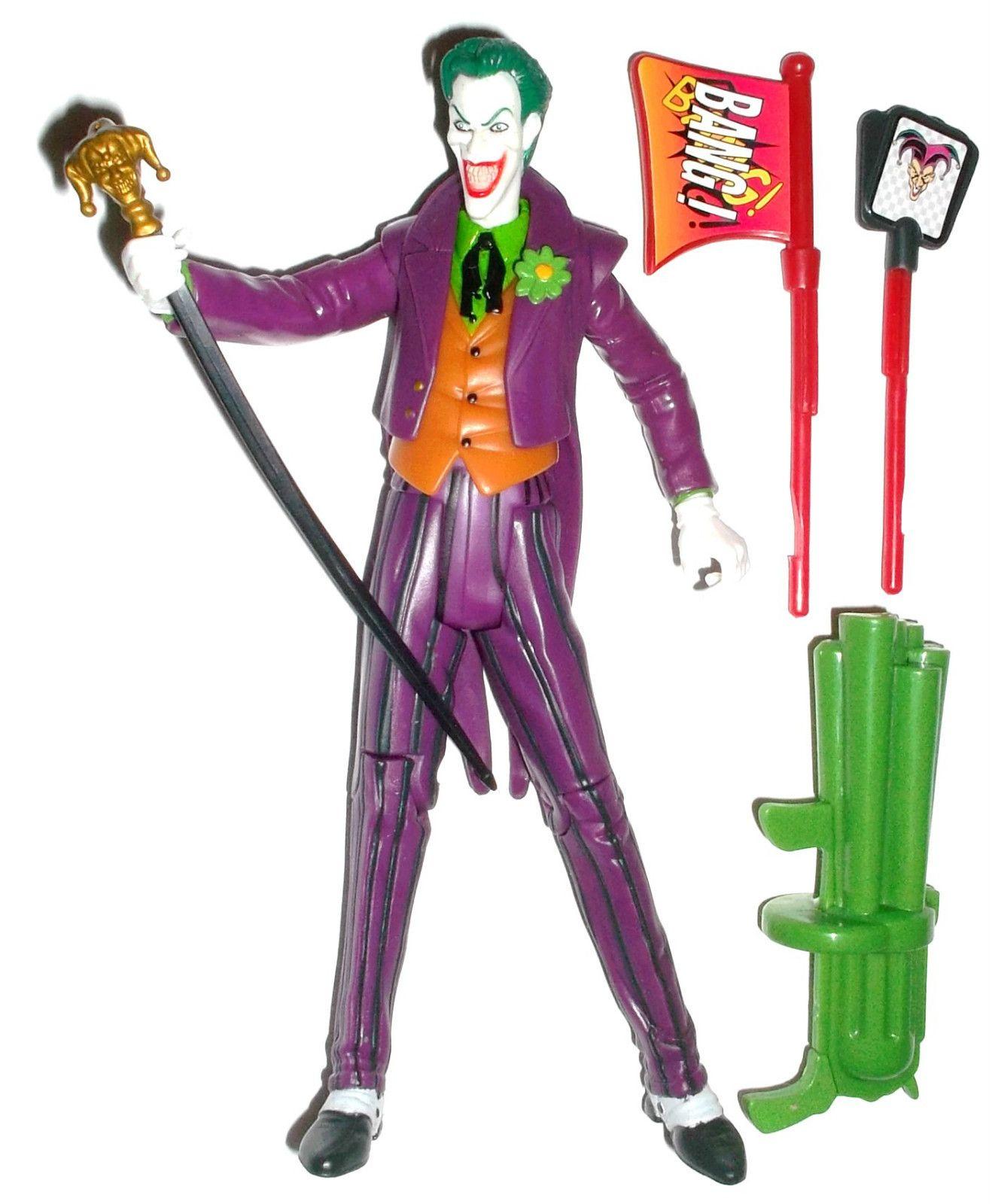 DC Universe Superheroes Batman QUICK FIRE JOKER 100% complete Mattel figure DCUC