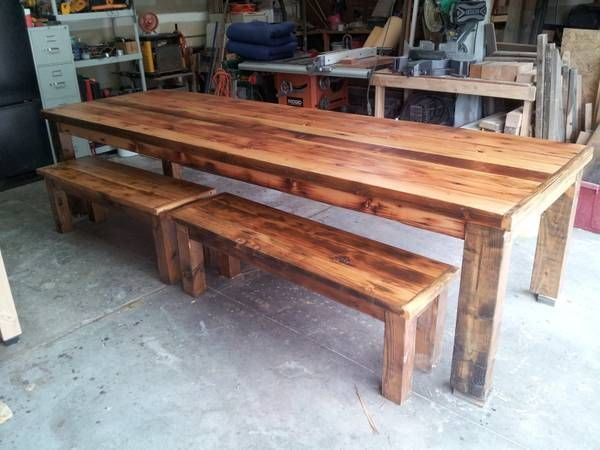 table idea Rustic dining, Rustic dining table, Dining table