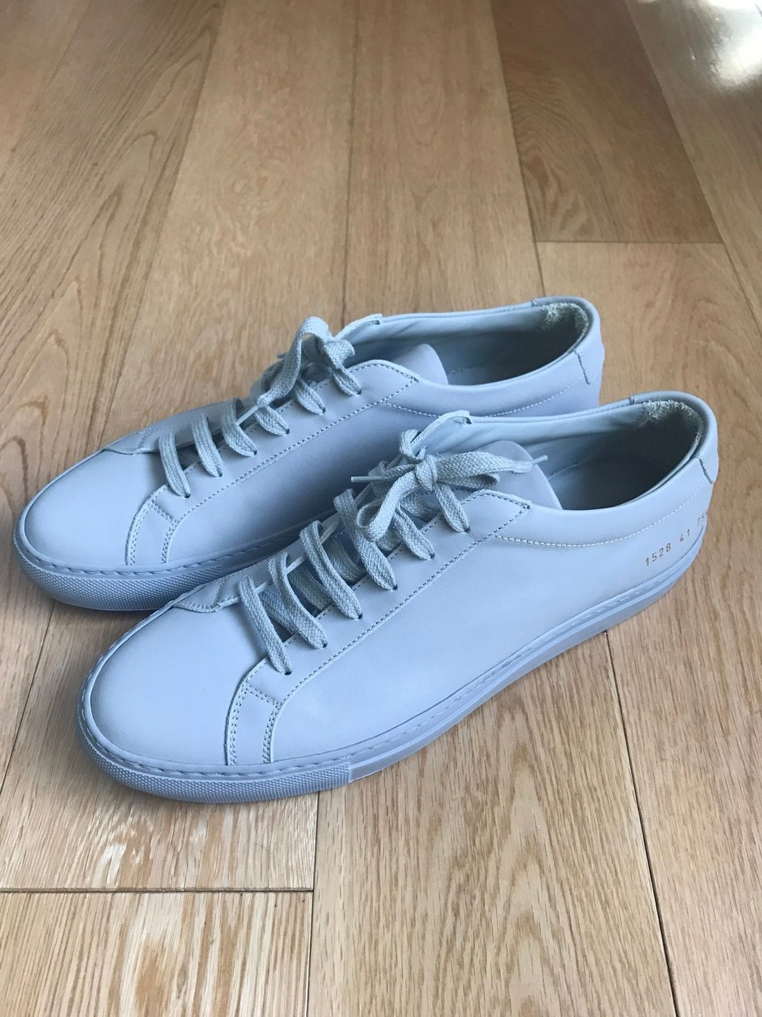 6914d05bf021 Common Projects Achilles Low Light Grey Sz 41 Size 8  250 - Grailed ...