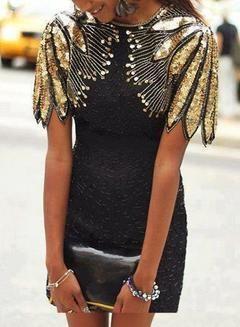 Photo of Elegant Sleeveless Sequin Mini Dress