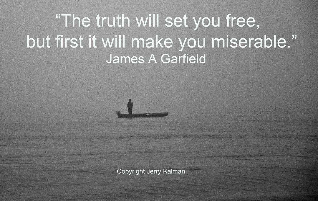 #Quotograph: #Quote by #PresidentJamesAGarfield and fisherman in the mist along the #DanubeRiver