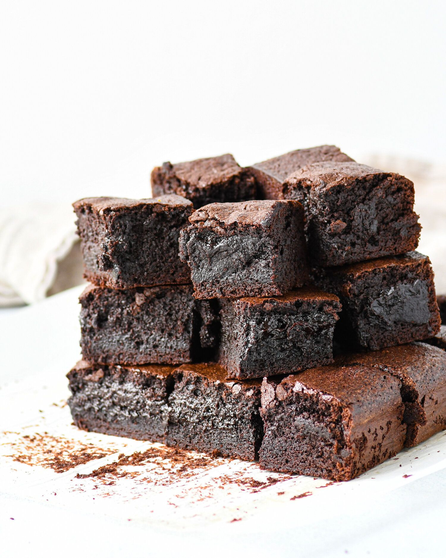 Thick Cocoa Brownies Recipe In 2020 Cocoa Brownies Chocolate Brownie Recipe Brownie Recipes