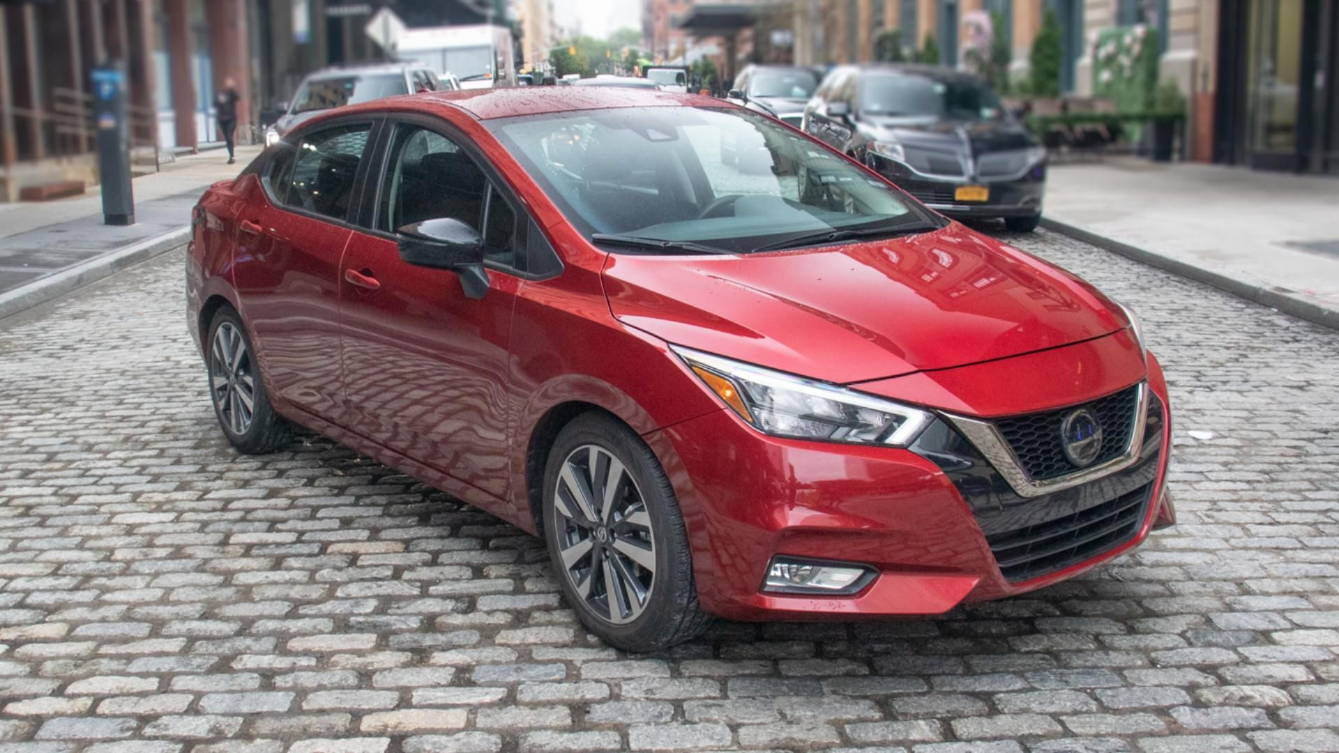 2020 Nissan Versa Review Safer Smoother Still Affordable Small Sedan With Images Small Sedans Nissan Versa Sedan