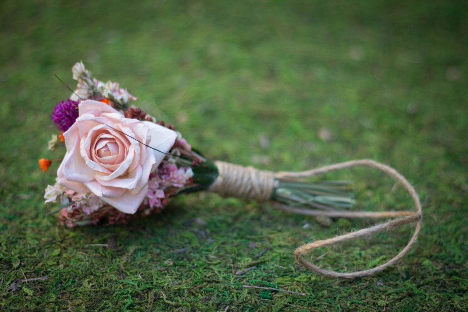 Wedding dress dream meaning  Hanging Flowers Mini Bouquet Dried Flowers Bitty Blooms Cute