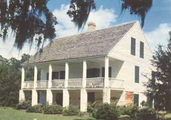 Acadian House Museum St Martinville Louisiana Casas Neoclasico Colonial