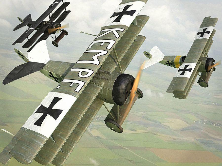 Fokker Dr.1 by Oxygino.deviantart.com on @deviantART
