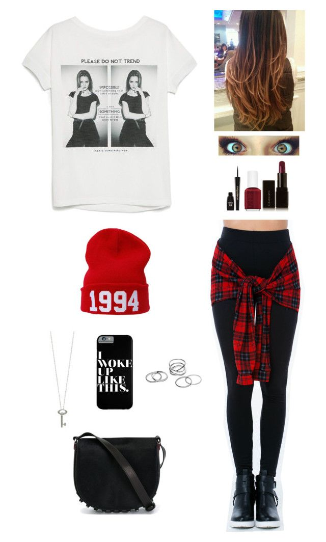 """""""Sem título #111"""" by ladybieber94 ❤ liked on Polyvore featuring MANGO, Roberto Coin, Illamasqua, Essie, Napoleon Perdis and Alexander Wang"""