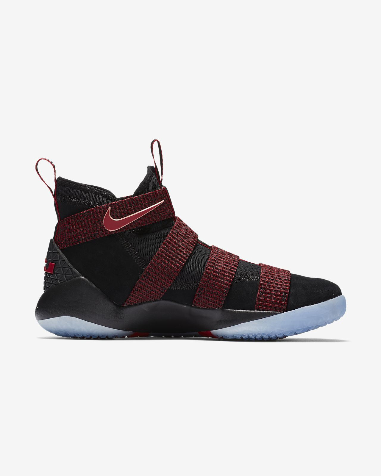 7955e716f1797 Nike Lebron Soldier Xi Basketball Shoe - M 12   W 13.5 Red ...