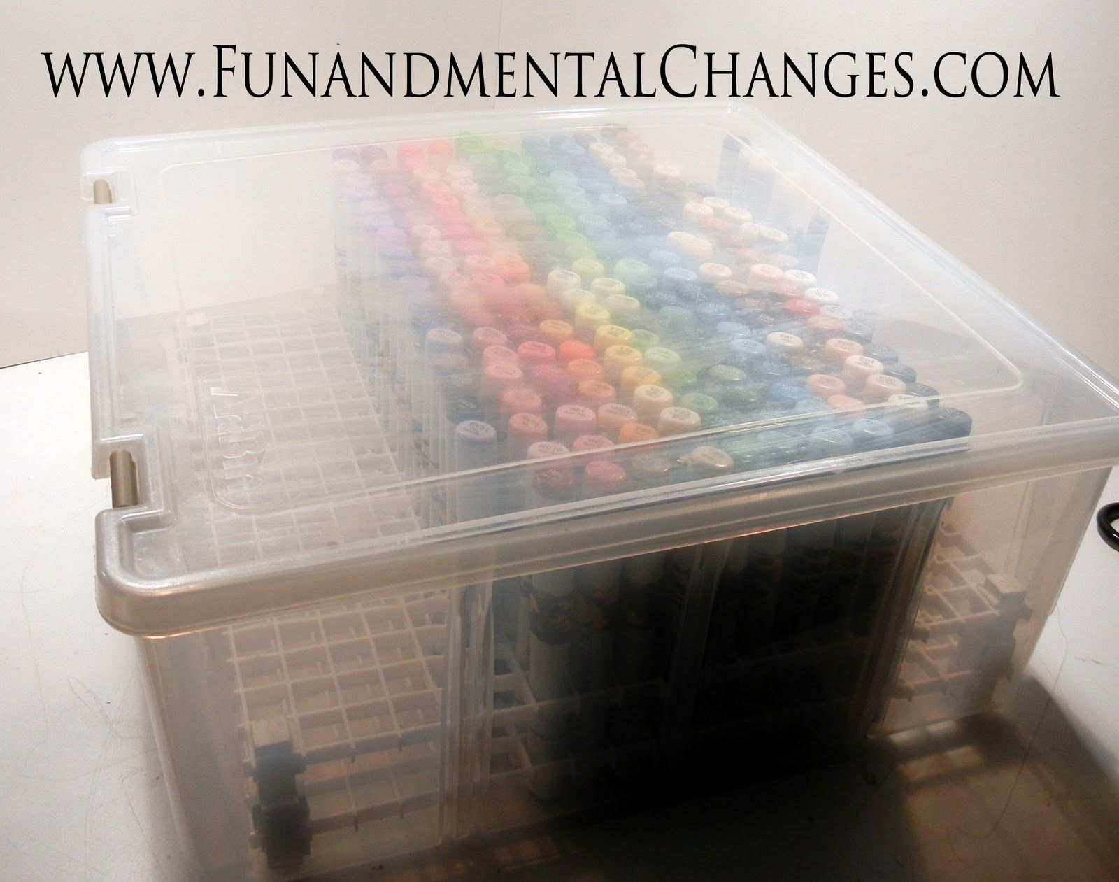 **** HUGE HALLOWEEN GIVE AWAY... CLICK HERE !!!!****   Ok, so I've done posts in the past about various Copic storage solutions, but I was g...