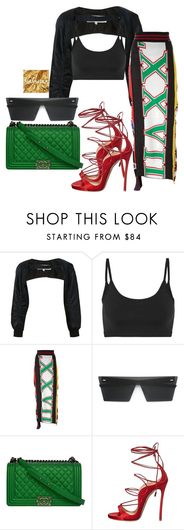 """""""Untitled #953"""" by thestylewalker ❤ liked on Polyvore featuring Noir Kei Ninomiya, Helmut Lang, Diesel, RetroSuperFuture, Chanel and Dsquared2"""
