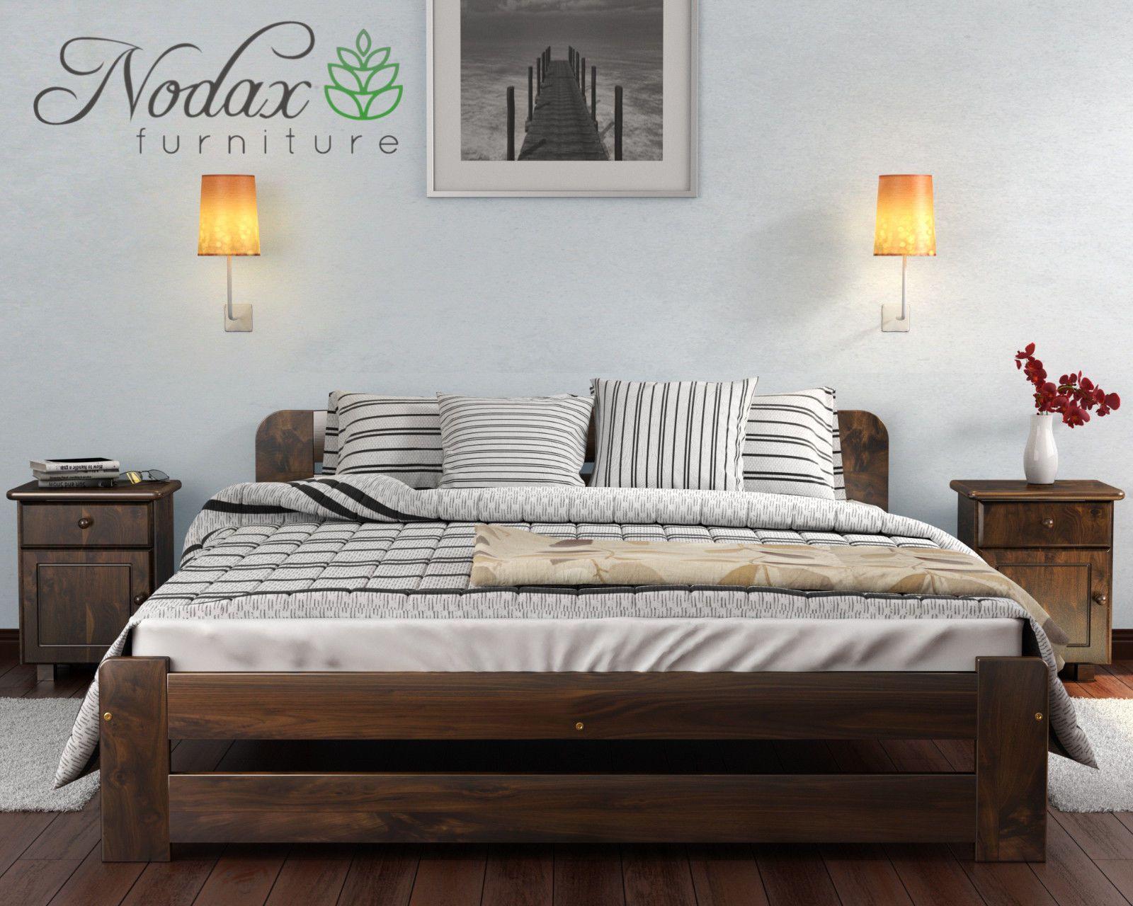 Best Details About Solid Pine 6Ft Super King Size Bed Frame 400 x 300