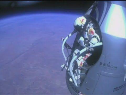 Felix Baumgartner Sets The Skydiving Record At 24 Miles Up Felix Baumgartner Skydiving Felix
