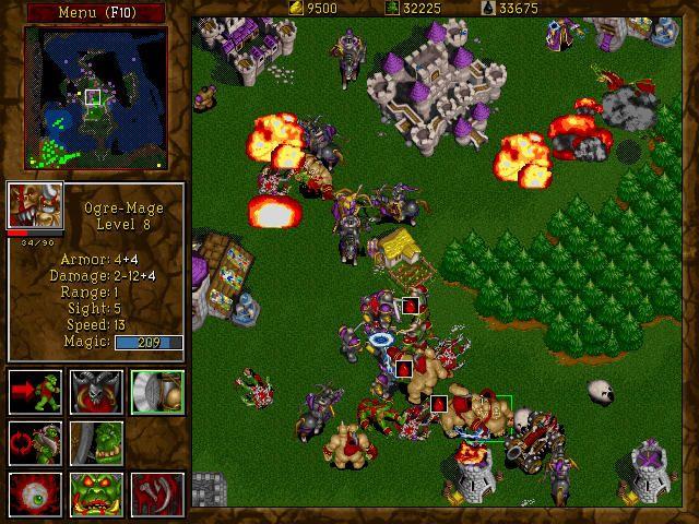 warcraft 2 gameplay | 80s-90s love and nostalgia | Warcraft
