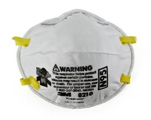 Respirator Mask N95 8210 3m Of - Particulate Pkg 20 Dust