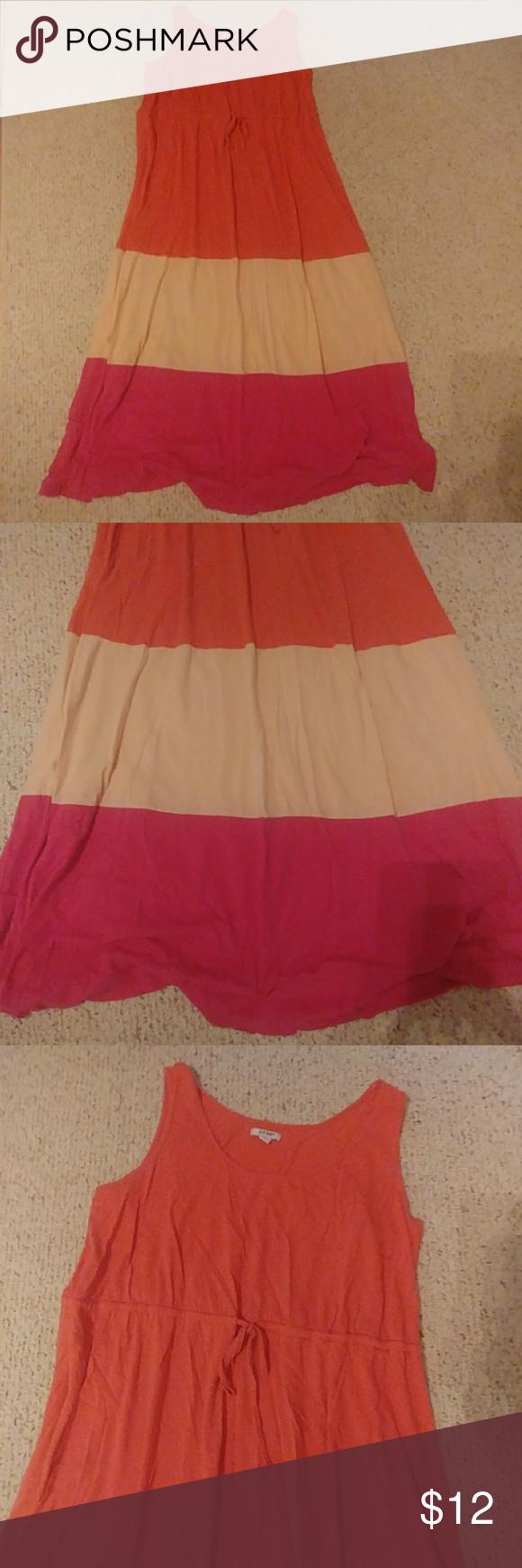 Old Navy Plus 4x Maxi Dress Color Block Dresses Clothes Design Colorful Dresses [ 1740 x 580 Pixel ]