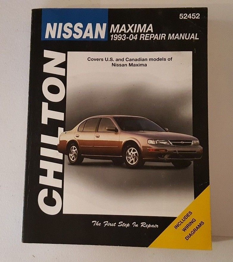 Chiltons Nissan Maxima 1993-04 Repair Manual 52452 Wiring ...