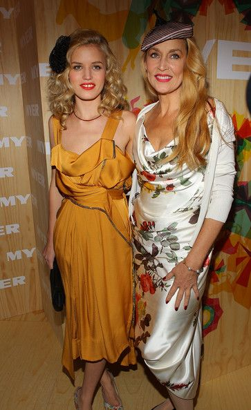 Jerry Hall & Georgia May Jagger