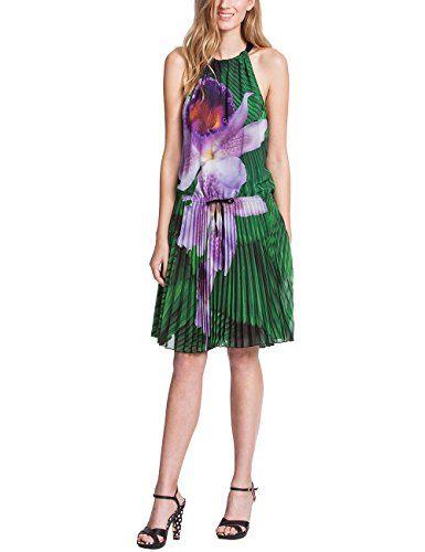 Desigual - Vest_Nappole, Stampato da donna,  senza maniche, verde(vert (verde agua oscuro)), taglia produttore: 42 Desigual http://ebay.to/1Gku8uN
