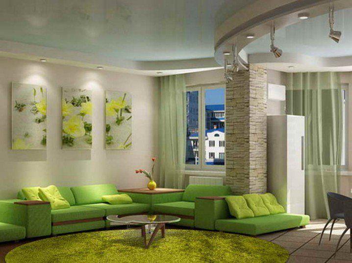Home Decorating Green Walls Of Living Room Pretty Designs Modern Green Living Room Living Room Green Minimalist Living Room