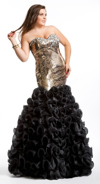 Plus Size Couture...Old Hollywood Glam! | Prom dresses ...