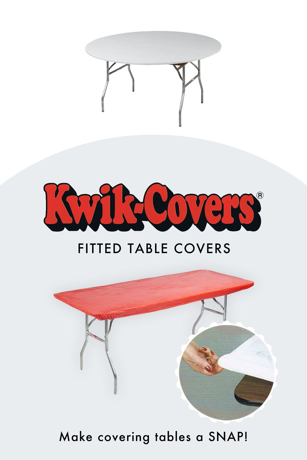 Kwik Covers Fitted Plastic Table Covers Fitted Table Cover Table Covers Plastic Table Covers