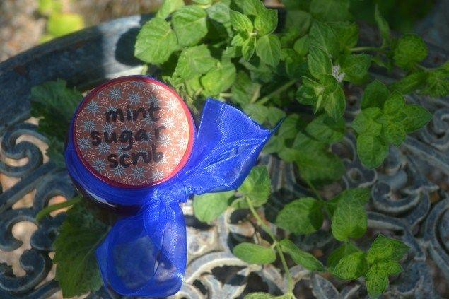 How to Make a Mint Sugar Scrub