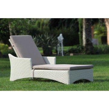 Tumbona rattán sintético manacor ambar muebles deco interiorismo jardin http