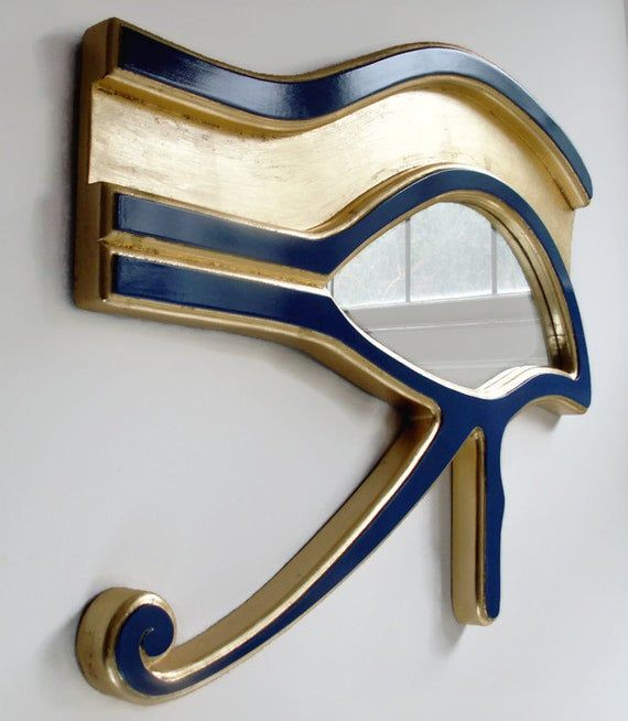 Decorative Wall Mirror Reclaimed Mirror Evil Eye Mirror | Etsy