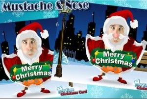 My Face Christmas Card Ios Universal Photography App Holiday Apps