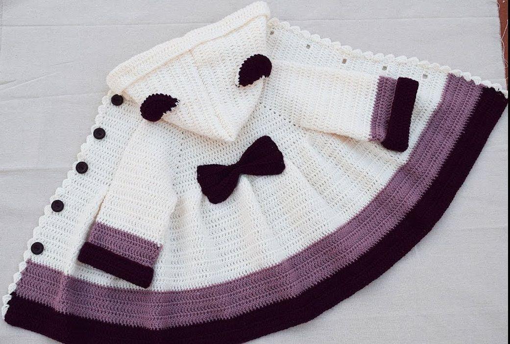 Toddler Girls\' Hoodie Cardigan Free Pattern | Crochet Cuties ...