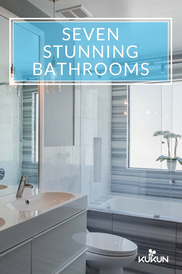 Here are seven beautiful bathroom designs to inspire your remodel ...