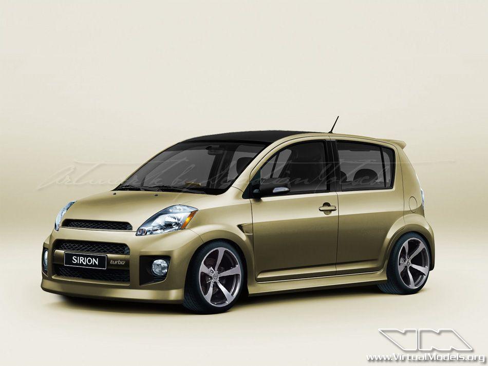 Daihatsu Sirion Turbo Photoshop Chop By Sebastian Motsch Daihatsu