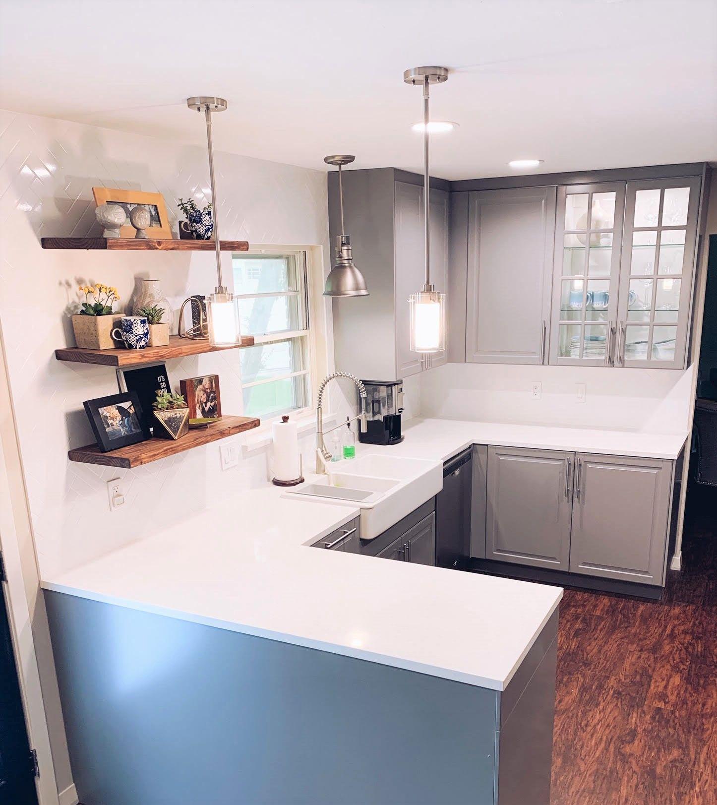 hidden bracket floating shelf kitchen remodel software on floating shelves kitchen id=54035