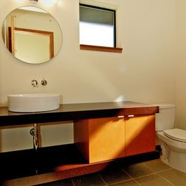 Website With Photo Gallery mid century modern powder room Google Search